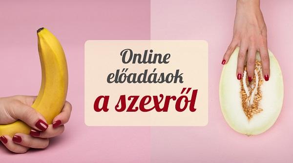 online előadások a szexről